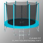 Батут Clear Fit ElastiqueStrong 14ft